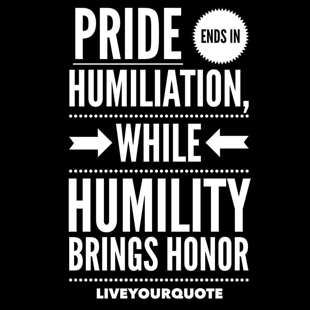 Humility vs. Humiliation: The Lessons of Christ and St